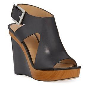 Michael Kors Josephine wedge platform sandal 7.5